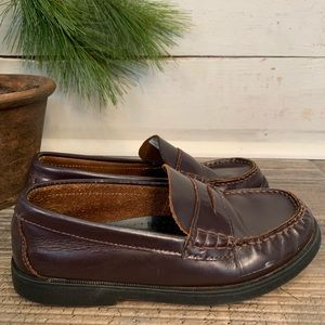 Sperry Top Sider Colton Leather Penny Loafer Shoes